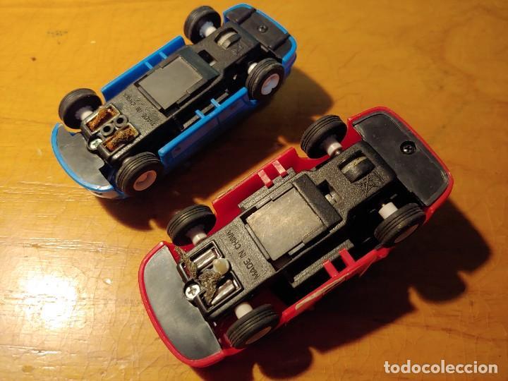 Slot Cars: DOS COCHES DE PISTA ELECTRICOS NO PARA SCALEXTRIC MIRAR FOTOS - Foto 4 - 241917215