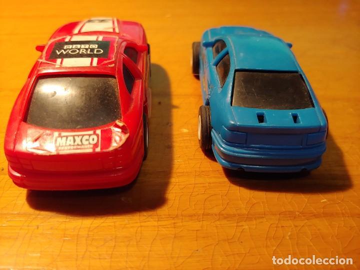 Slot Cars: DOS COCHES DE PISTA ELECTRICOS NO PARA SCALEXTRIC MIRAR FOTOS - Foto 6 - 241917215