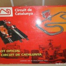 Slot Cars: SCALEXTRIC - CIRCUIT DE CATALUNYA / L'SLOT OFICIAL DEL CIRCUIT DE CATALUNYA ( NO ESTA COMPLETO ). Lote 242136420