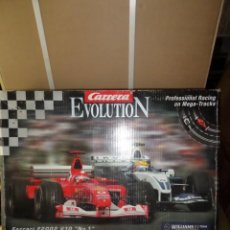 Slot Cars: SCALEXTRIC - CIRCUITO FORMULA RACING / CARRERA EVOLUTION (NO ESTA COMPLETO) DISPONGO DE MAS JUGUETES. Lote 242138635