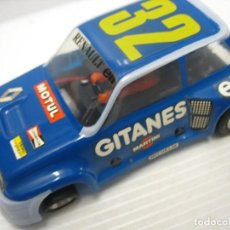 Slot Cars: SLOT, ESCALEXTRIC RENAULT 5 TURBO GITANES SRS EXIN SCALEXTRIC. Lote 242367410