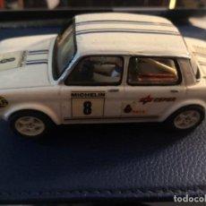Slot Cars: SIMCA CARROCERIA FIBRA Y CHAXIS MONTADO FERRARI 167 NINCO. Lote 243823840