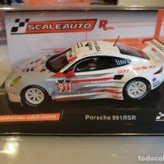 Slot Cars: SC-6151R. PORSCHE 991 RSR Nº911 VERSION R DE SCALEAUTO. Lote 243837160