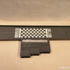 Slot Cars: ANTIGUOS TRAMO PISTA SALIDA LLEGADA CON CONEXIONES TCR MODEL-IBER SA 1980 BUEN ESTADO VER FOTOS. Lote 243882935