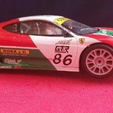 Slot Cars: COCHE FERRARI 360GTC SCALEXTRIC MADE IN CHINA. Lote 244001705