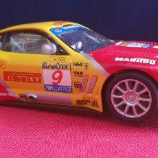Slot Cars: COCHE FERRARI 550 MARANELLO SCALEXTRIC MADE IN CHINA. Lote 244002140