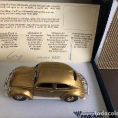 Slot Cars: VOLKSWAGEN EURO BEETLE 1000000 DE PINK-KAR, EDICIÓN LIMITADA. Lote 244011690
