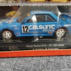 Slot Cars: CA47B. NOVEDAD - NISSAN CALSONIC SKYLINE GT-R Nº12 DE SLOT.IT. Lote 244183805