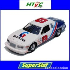 Slot Cars: SUPERSLOT FORD THUNDERBIRD 1986 #9 BLUE / WHITE / RED SCALEXTRIC UK H4035. Lote 245089280