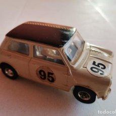 Slot Cars: COCHE DE PISTA SLOT JOUEF MINI COOPER 1300. Lote 245097135