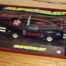 Slot Cars: SUPERSLOT - FORD RS COSWORTH TEXACO - REF C.004 - NUEVO A ESTRENAR. Lote 247729185