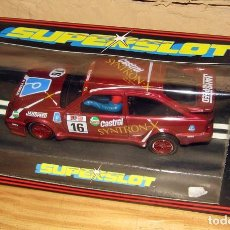 Slot Cars: SUPERSLOT - FORD RS COSWORTH SYNTRON-X - REF C.001 - NUEVO A ESTRENAR. Lote 247729920