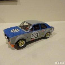Slot Cars: VULCAN. FORD ESCORT MKI. 24H SPA 1971. FITZPATRICK - MAZET. Lote 278644218