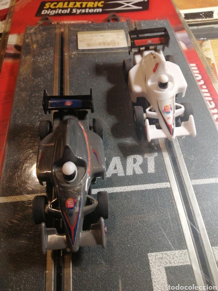 SCALEXTRIC DOS COCHES TAL FOTOS (Juguetes - Slot Cars - Magic Cars y Otros)