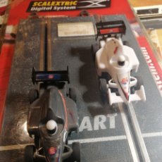 Slot Cars: SCALEXTRIC DOS COCHES TAL FOTOS. Lote 251775575