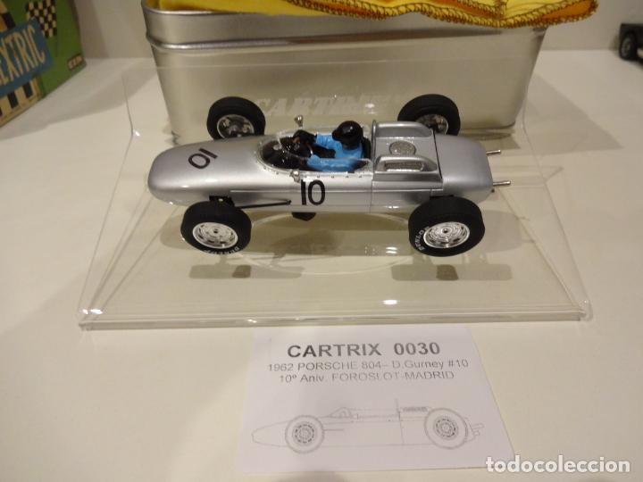 CARTRIX. PORSCHE 804. D.GURNEY. Nº10. ED.LTA FOROSLOT 10º ANIVERSARIO. REF. 0030 (Juguetes - Slot Cars - Magic Cars y Otros)