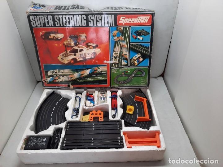 SUPER STEERING SYSTEM BS-8 ( SPEEDTRACK ) SCALEXTRIC LANCIA Y BMW (Juguetes - Slot Cars - Magic Cars y Otros)