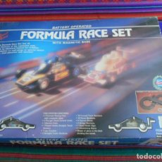 Slot Cars: FORMULA RACE SET SUPER SPEED ITEM NO. 9901-M. SCALEXTRIC. AÑO 1985. MUY RARO.. Lote 253144190