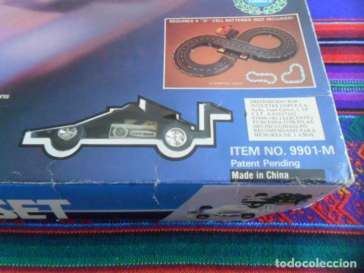 Slot Cars: FORMULA RACE SET SUPER SPEED ITEM NO. 9901-M. SCALEXTRIC. AÑO 1985. MUY RARO. - Foto 2 - 253144190