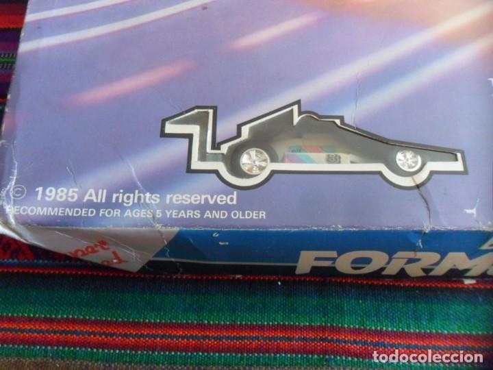 Slot Cars: FORMULA RACE SET SUPER SPEED ITEM NO. 9901-M. SCALEXTRIC. AÑO 1985. MUY RARO. - Foto 3 - 253144190
