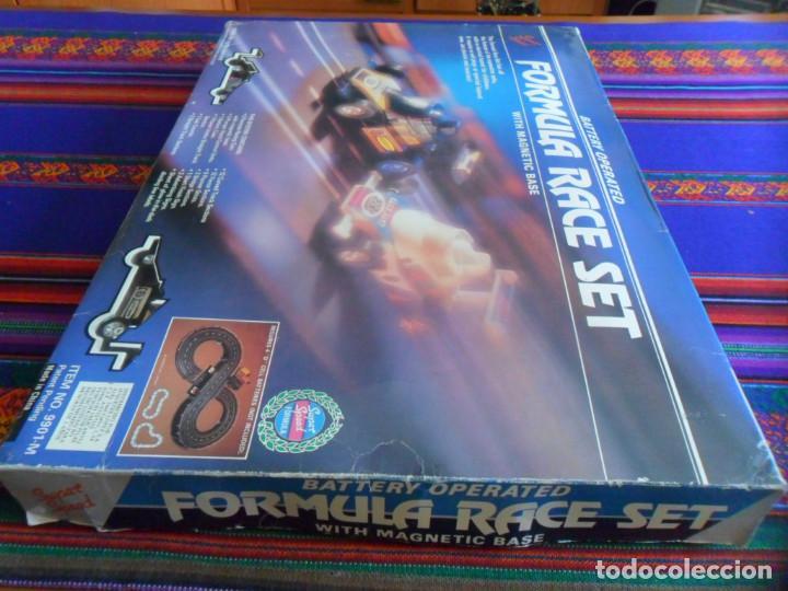 Slot Cars: FORMULA RACE SET SUPER SPEED ITEM NO. 9901-M. SCALEXTRIC. AÑO 1985. MUY RARO. - Foto 5 - 253144190