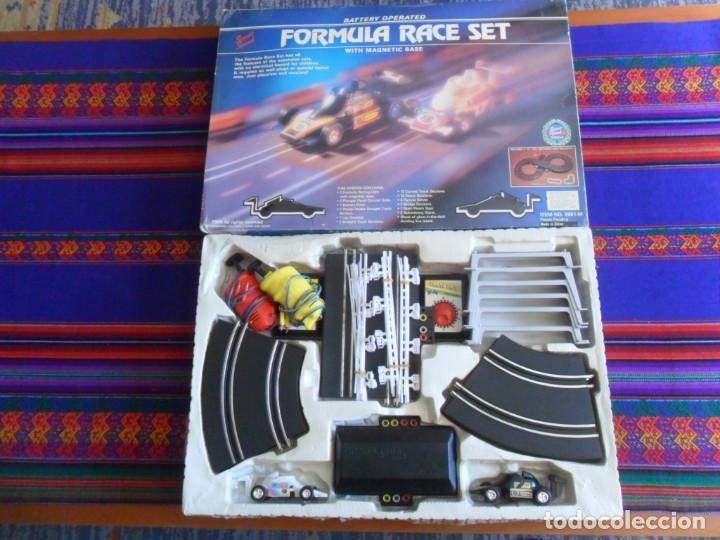 Slot Cars: FORMULA RACE SET SUPER SPEED ITEM NO. 9901-M. SCALEXTRIC. AÑO 1985. MUY RARO. - Foto 6 - 253144190