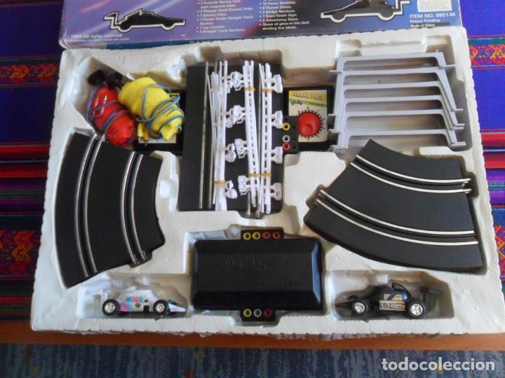 Slot Cars: FORMULA RACE SET SUPER SPEED ITEM NO. 9901-M. SCALEXTRIC. AÑO 1985. MUY RARO. - Foto 7 - 253144190