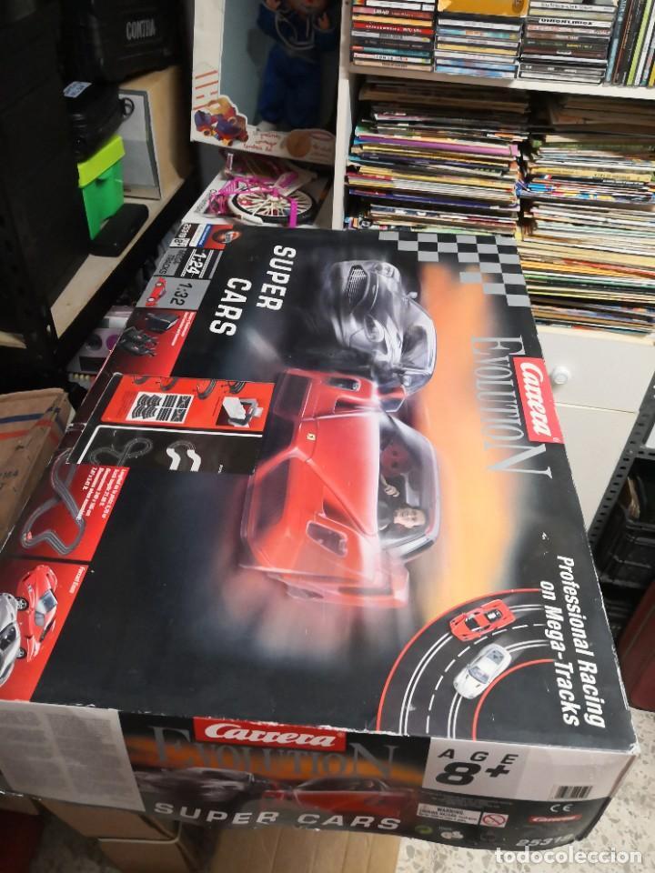 PISTA CIRCUITO SÚPER CARS CARRERA EVOLUTION (Juguetes - Slot Cars - Magic Cars y Otros)