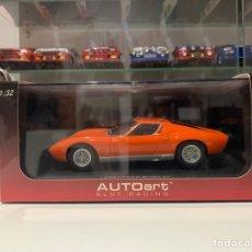 Slot Cars: AUTOART SLOT LAMBORGHINI MIURA. Lote 255532755