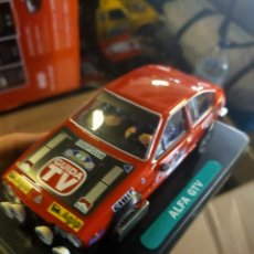 Slot Cars: ANTIGUO COCHE SLOT RALLY ALFA ROMEO GTV - SCALEXTRIC GOM SCX. Lote 257552180
