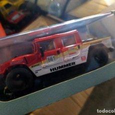 Slot Cars: ANTIGUO HUMMER H1 POWER SLOT 861 - BAJA CALIFORNIA - SCALEXTRIC SCX. Lote 257553020