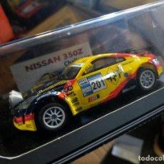 Slot Cars: ANTIGUO COCHE POWER SLOT NISSAN 350Z RALLY SCALEXTRIC SCX - FOMBONA. Lote 257554420