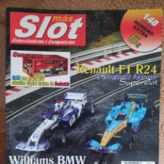 Slot Cars: REVISTAS MÁS SLOT. DEL NÚMERO 1 AL 114.. Lote 257707770