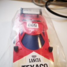 Slot Cars: LANCIA VINTAGE SLOT TRC, ESCALA 1/43, NUNCA USADO, SE ABRE LA BOLSA PARA LAS FOTOS. Lote 257791945