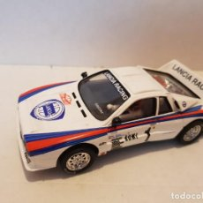 Slot Cars: SCALEXTRIC LANCIA 037. Lote 261005485