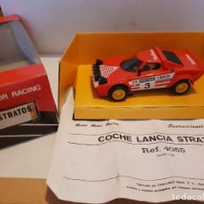 Slot Cars: SCALEXTRIC LANCIA STRATOS REF.-4055. Lote 261256825