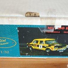 Slot Cars: CAJA ORIGINAL SLOT CLASSIC SEAT FU CON PIEZAS SUELTAS. Lote 261619675