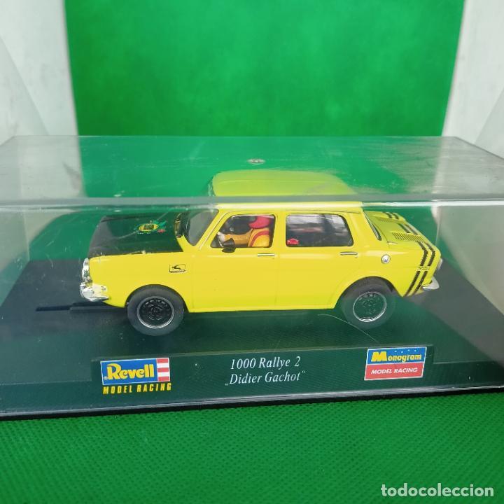 SIMCA 1000 RALLYE 2 / REF. 08344 - REVELL MODEL RACING/ MONOGRAM DIDIER GACHOT (Juguetes - Slot Cars - Magic Cars y Otros)