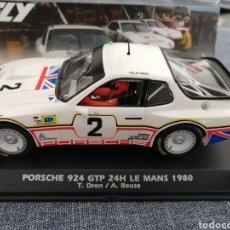 Slot Cars: PORSCHE 924 GTP Nº2 DE LAS 24H. LE MANS 1980 DE FLY. Lote 275904148