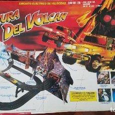 Slot Cars: SLOT SCALEXTRIC CIRCUÍTO LA AVENTURA DEL VOLCAN FAMOSA FAMOPLAY 1991.. Lote 263693155