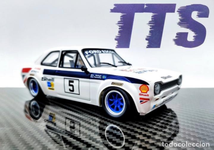 Slot Cars: TTS FORD ESCORT MK1 #5 BRITISH AIRWAYS TTS-031 - Foto 2 - 264843904