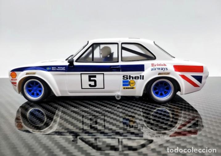 Slot Cars: TTS FORD ESCORT MK1 #5 BRITISH AIRWAYS TTS-031 - Foto 4 - 264843904
