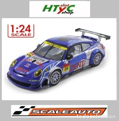 SCALEAUTO PORSCHE 911 GT3 RSR #25 SUPER GT 2011 ZENT TSUCHIYA / TSUZUKI SC-7049HS (Juguetes - Slot Cars - Magic Cars y Otros)