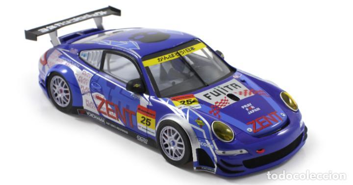 Slot Cars: SCALEAUTO PORSCHE 911 GT3 RSR #25 SUPER GT 2011 ZENT TSUCHIYA / TSUZUKI SC-7049HS - Foto 3 - 264847809