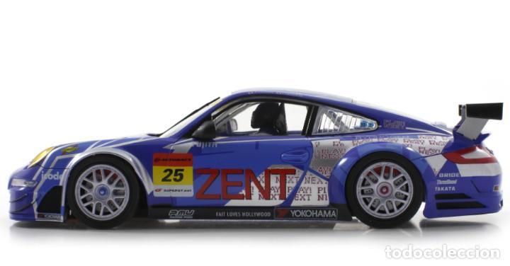 Slot Cars: SCALEAUTO PORSCHE 911 GT3 RSR #25 SUPER GT 2011 ZENT TSUCHIYA / TSUZUKI SC-7049HS - Foto 4 - 264847809