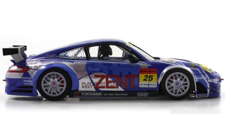 Slot Cars: SCALEAUTO PORSCHE 911 GT3 RSR #25 SUPER GT 2011 ZENT TSUCHIYA / TSUZUKI SC-7049HS - Foto 5 - 264847809
