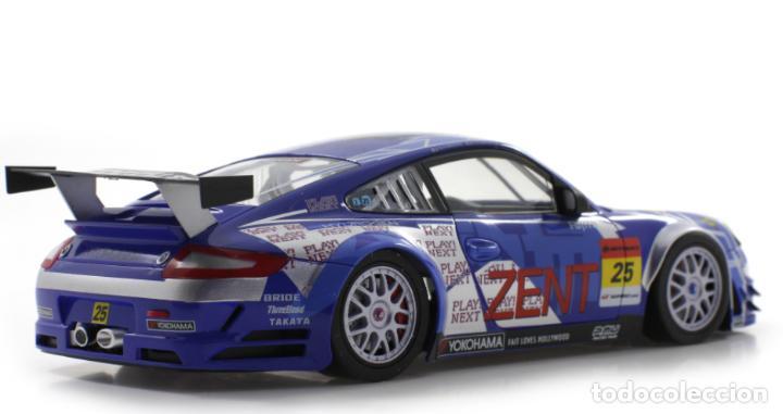 Slot Cars: SCALEAUTO PORSCHE 911 GT3 RSR #25 SUPER GT 2011 ZENT TSUCHIYA / TSUZUKI SC-7049HS - Foto 6 - 264847809