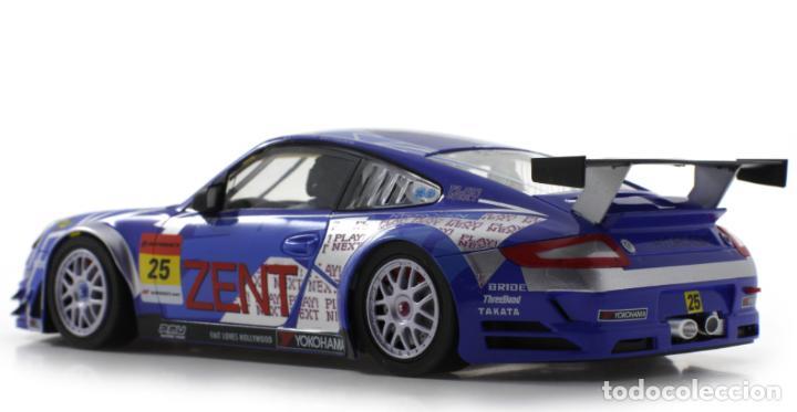 Slot Cars: SCALEAUTO PORSCHE 911 GT3 RSR #25 SUPER GT 2011 ZENT TSUCHIYA / TSUZUKI SC-7049HS - Foto 7 - 264847809