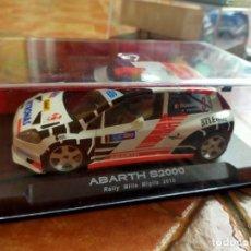 Slot Cars: ANTIGUO COCHE DE RALLY SLOT NSR FIAT PUNTO ABARTH S2000 - SCALEXTRIC SCX -. Lote 267208534