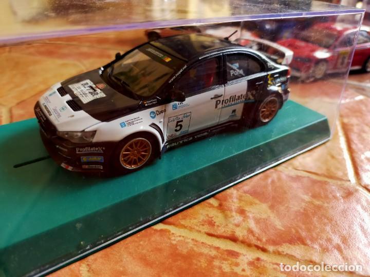 ANTIGUO COCHE DE RALLY SLOT MITSUBISHI LANCER WRC - AVANT SLOT - SCALEXTRIC SCX (Juguetes - Slot Cars - Magic Cars y Otros)